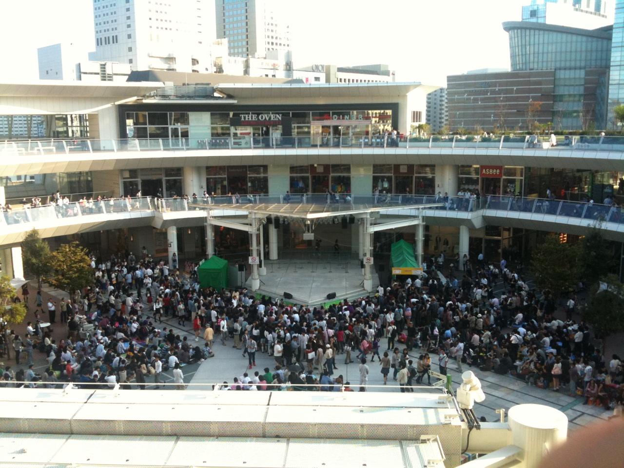 [11.09.28] Debut T-ara en Japón 1